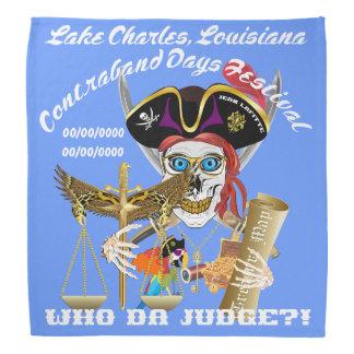 Pirate Judge IMPORTANT Read About Design Bandana