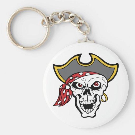 Pirate Key Chains