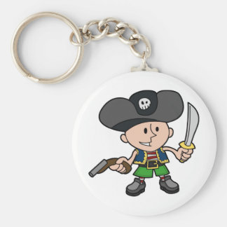 Pirate Keychains