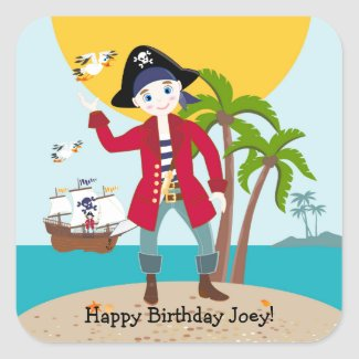 Pirate kid birthday party