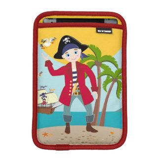 Pirate kid birthday party iPad mini sleeve