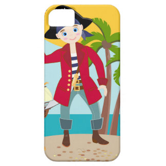 Pirate kid birthday party iPhone SE/5/5s case