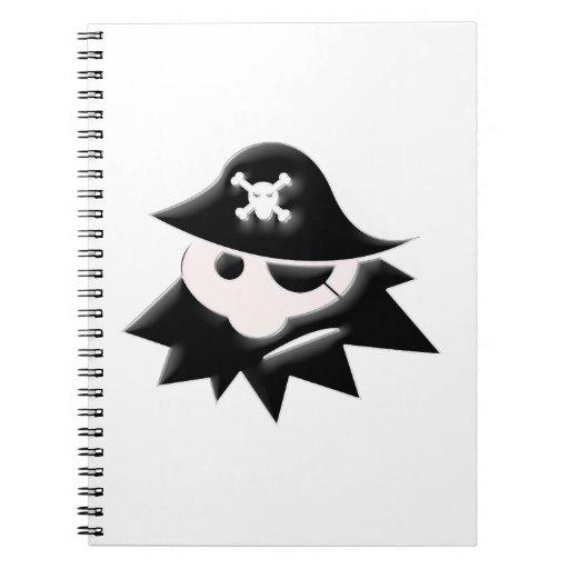 Pirate Kid Spiral Notebooks