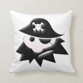 Pirate Kid Throw Pillow