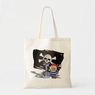 Pirate Kid Tote Bags