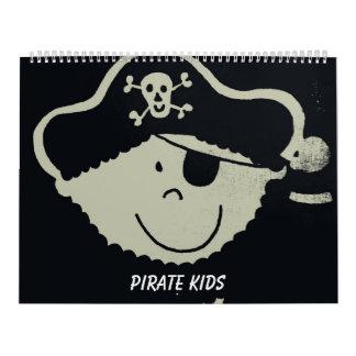 Pirate Kids Calendar