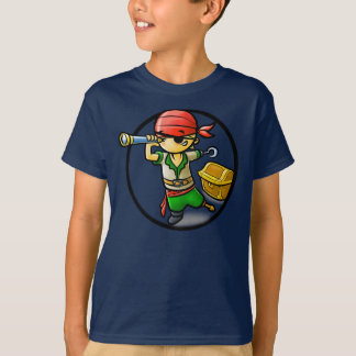 Pirate - Kids Dark T-Shirt