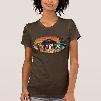 Pirate Kilroy Ladies T-Shirt