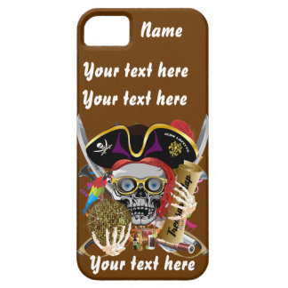 Pirate King All Styles Important View Hint iPhone 5 Case