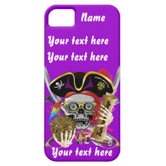Pirate King All Styles Important View Hint iPhone 5 Cases