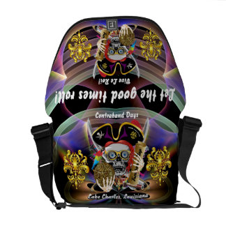 Pirate King All Styles Important View Hint Courier Bag