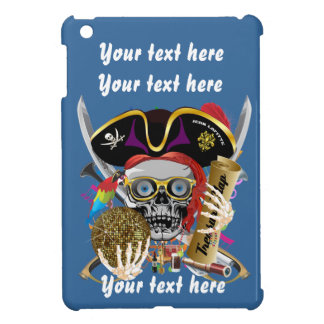 Pirate King All Styles Important View Hint iPad Mini Case