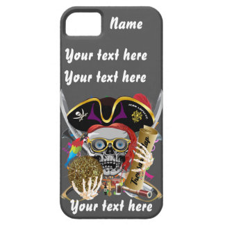 Pirate King All Styles Important View Hint iPhone SE/5/5s Case