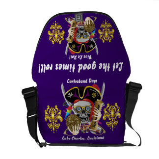 Pirate King All Styles Important View Hint Messenger Bag