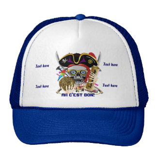 Pirate King All Styles Important View Hint Trucker Hat