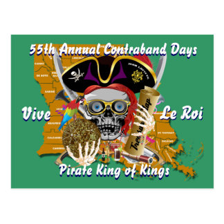 Pirate King Change Dates Important View Hint Postcard