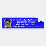 Pirate King Lafitte Important View Hint Bumper Stickers