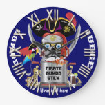 Pirate King of Kings Important View Hints Clocks