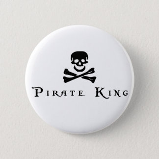 Pirate King Pinback Button