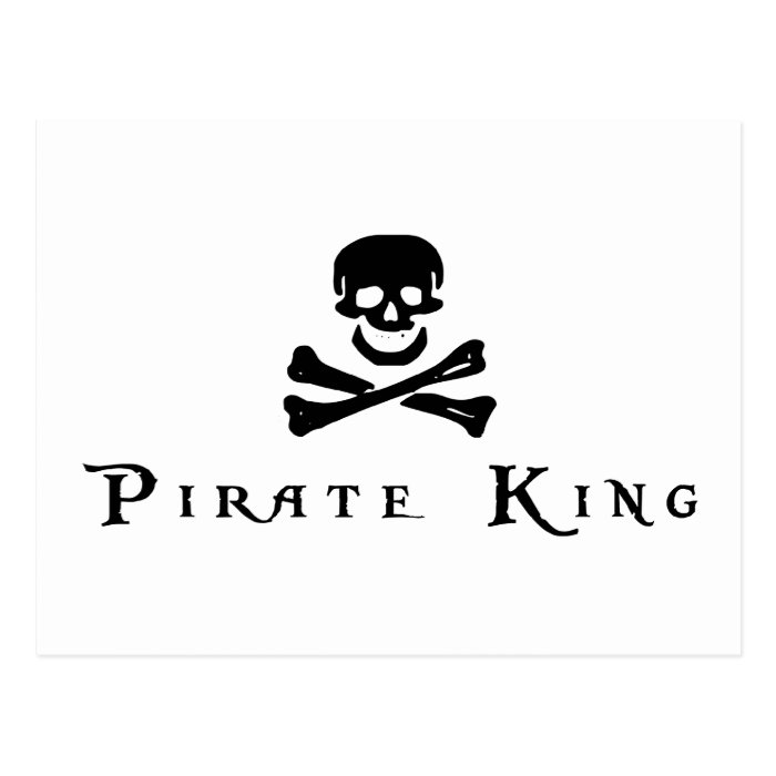 Pirate King Postcard