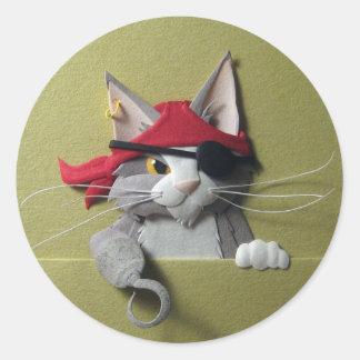 Pirate Kitten #2 Stickers