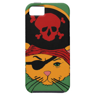 Pirate Kitty iPhone 5 Cases