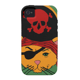 Pirate Kitty iPhone 4/4S Case