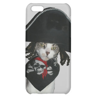 Pirate Kitty Cover For iPhone 5C