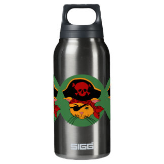 Pirate Kitty Insulated Water Bottle