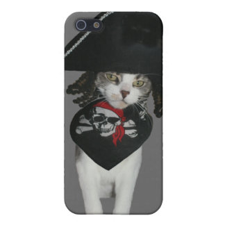 Pirate Kitty Cover For iPhone 5