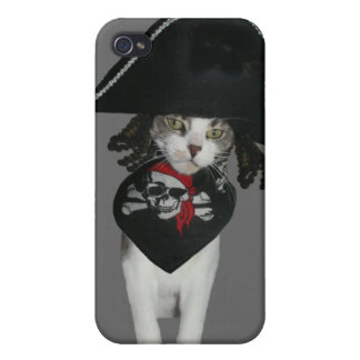 Pirate Kitty iPhone 4 Cover
