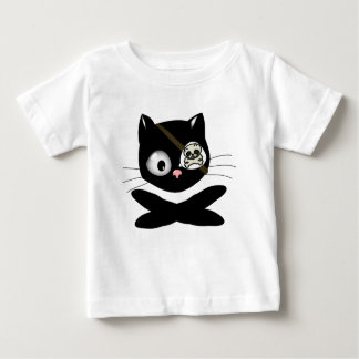 Pirate Kitty with Pink Nose (TLAPD) Baby T-Shirt