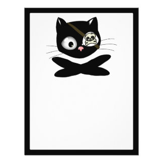 Pirate Kitty with Pink Nose (TLAPD) Flyers