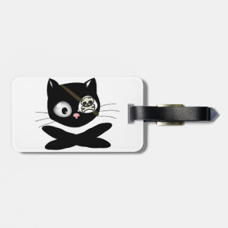 Pirate Kitty with Pink Nose (TLAPD) Travel Bag Tags