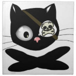Pirate Kitty with Pink Nose (TLAPD) Napkins