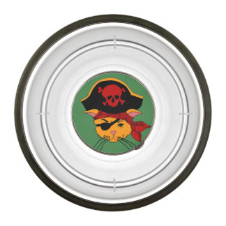 Pirate Kitty Pet Bowl