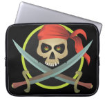 Pirate Laptop Computer Sleeves