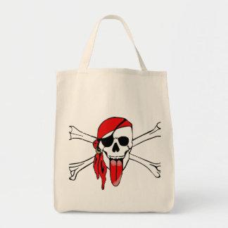 Pirate Laurent Drapeau Tote Bag