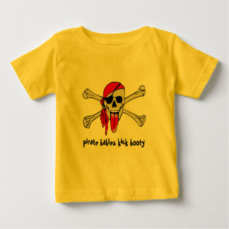Pirate Laurent Drapeau with extra long tongue Baby T-Shirt