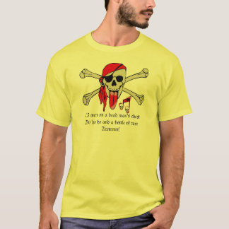 Pirate Laurent Drapeau with extra long tongue T-Shirt