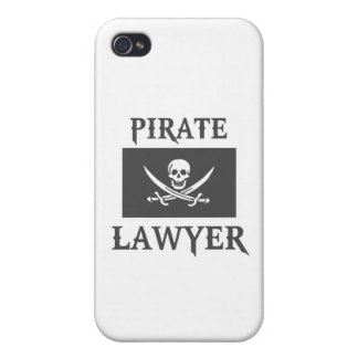 Pirate Lawyer Cover For iPhone 4
