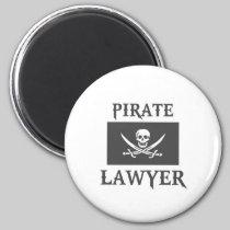 Pirate Lawyer Fridge Magnets