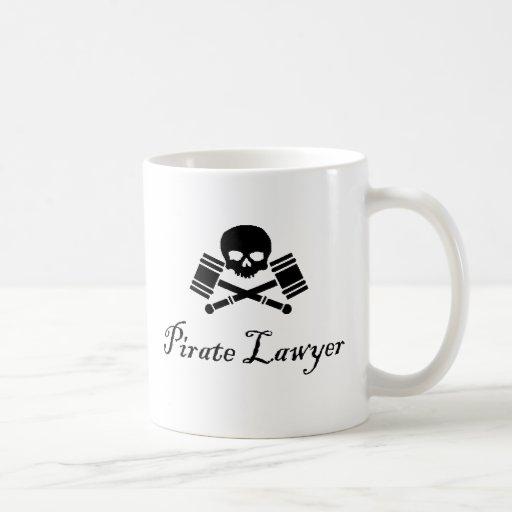 Pirate Lawyer Hostile Take Over Mug