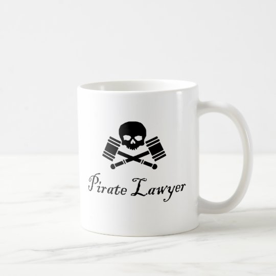 Pirate Lawyer Hostile Take Over Mug