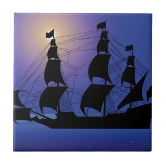 pirate life ship at sea tiles