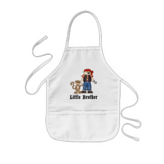 Pirate Little Brother Apron