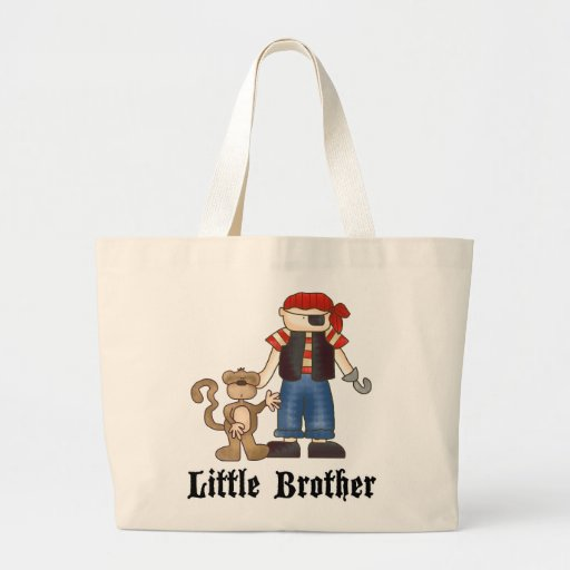 Pirate Little Brother Canvas Bag