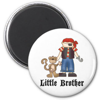 Pirate Little Brother Magnet