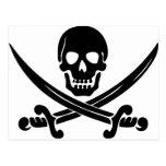 Pirate Logo Postcard