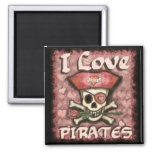 Pirate Lover's Valentine Magnet